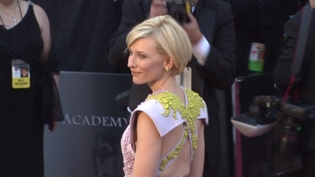 Cate Blanchett at the 83rd Annual Academy Awards Arrivals Part 2 at Hollywood CA