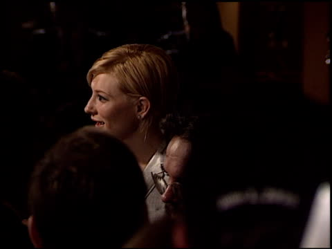 cate blanchett at the dga director's guild of america awards at the century plaza hotel in century city, california on march 2, 2003. - director's guild of america stock videos & royalty-free footage