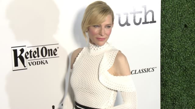 cate blanchett at the truth los angeles screening at samuel goldwyn theater on october 5 2015 in beverly hills california - samuel goldwyn theater stock videos & royalty-free footage