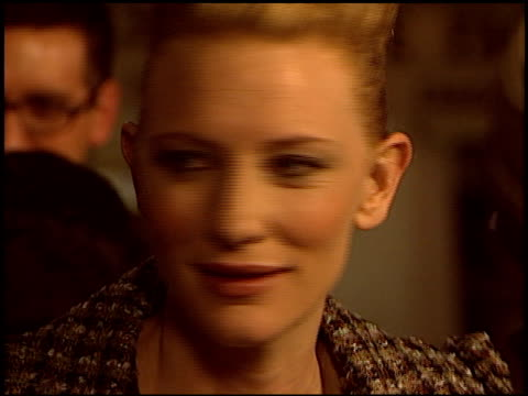 Cate Blanchett at the 'Veronica Guerin' Premiere on October 8 2003