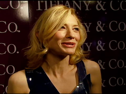 Cate Blanchett on the difficult 'stitches' scene in Babel how she chooses her roles starring in many releases at once her next project her dress at...