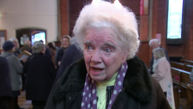 Catford school remembers WWII bombing Catford INT Margaret Purdy interview SOT