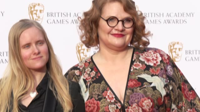 catharina bohler elin festoy on april 04 2019 in london united kingdom - british academy television awards stock videos & royalty-free footage
