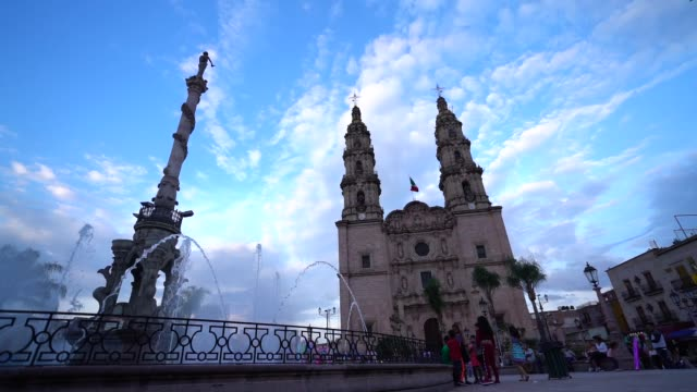 cathedral basilica of nuestra señora of san juan de los lagos located in jalisco state one of the most visited churches by catholics in mexico... - paganism stock videos and b-roll footage