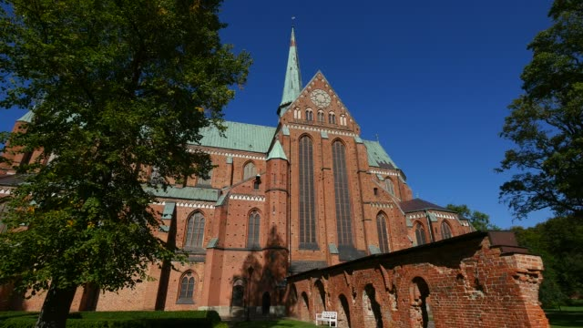cathedral in bad doberan, mecklenburg-western pomerania, germany, europe - western europe stock videos & royalty-free footage
