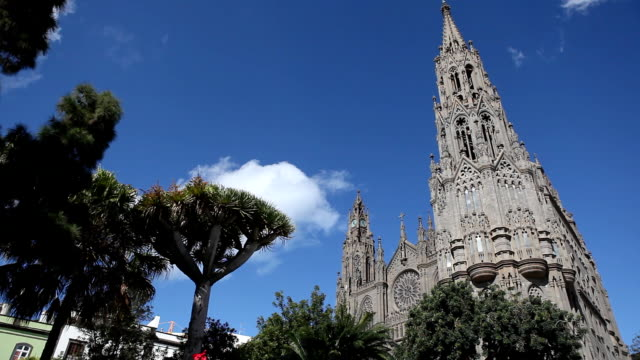 cathedrale in gran canaria - grand canary stock videos and b-roll footage