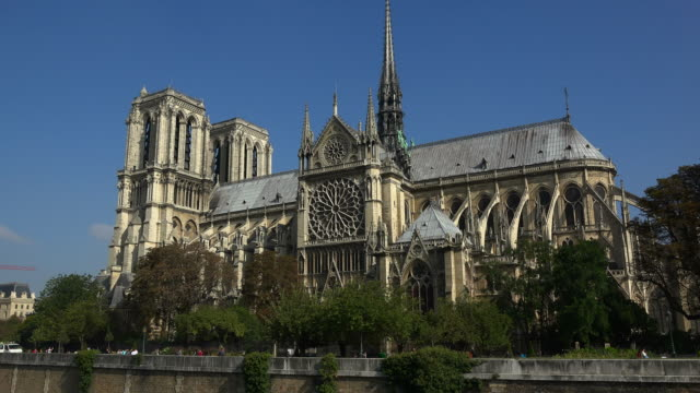 Cathedral Notre Dame, UNESCO World Heritage Site, Paris, France, Europe