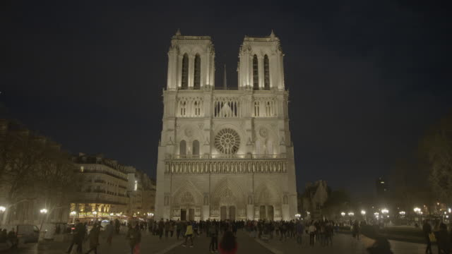 cathedral notre dame - notre dame de paris stock videos and b-roll footage