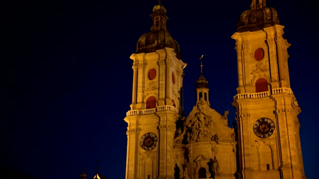 kathedrale von st.gallen, schweiz - kathedrale stock-videos und b-roll-filmmaterial