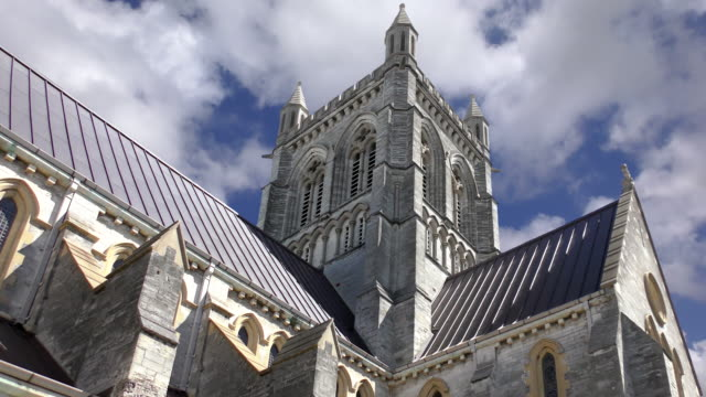 cathedral of the most holy trinity - hamilton, bermuda - religion stock videos & royalty-free footage