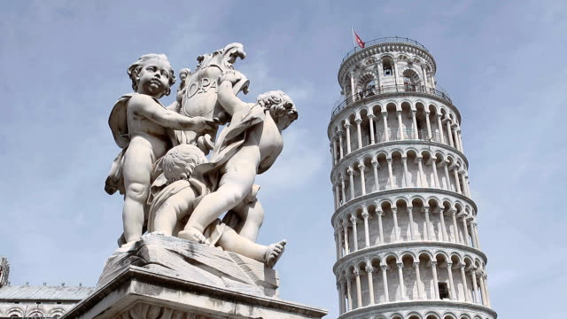 cathedral square in pisa - pisa cathedral stock videos & royalty-free footage