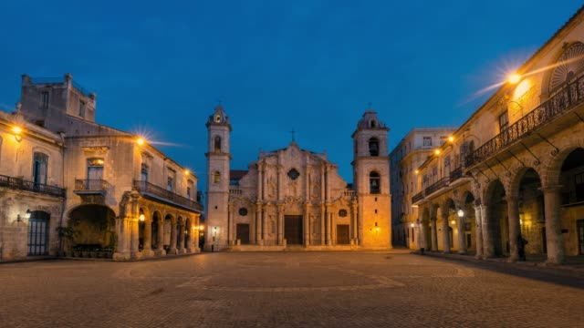 cathedral - havana stock videos & royalty-free footage