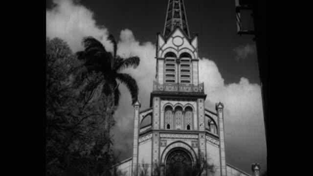 vidéos et rushes de cathedrale saint-louis, fort-de-france, martinique - martinique