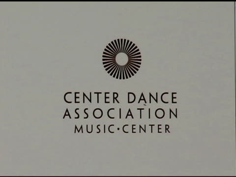 catherine dent loves the ballet at the nyc ballet gala to benefit the center dance association at the music center interviews at dorothy chandler... - dorothy chandler pavilion stock videos and b-roll footage