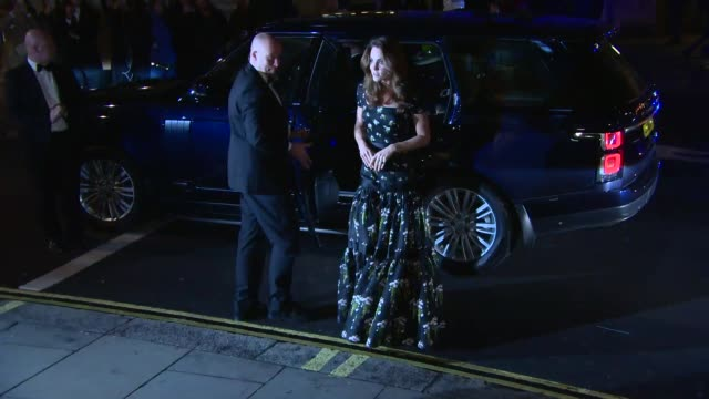catherine duchess of cambridge at 2019 portrait gala on march 12 2019 in london united kingdom - ming stock videos & royalty-free footage