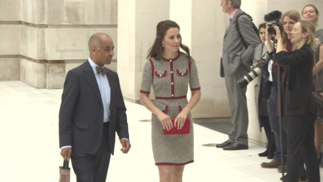 catherine duchess of cambridge leaving at the victoria and albert museum at victoria and albert museum on june 29 2017 in london england - victoria and albert museum london stock videos & royalty-free footage