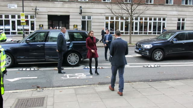 Catherine Duchess of Cambridge visits a UCL Development Neuroscience Lab at Sightings in London at Celebrity Sightings in London on November 21 2018...