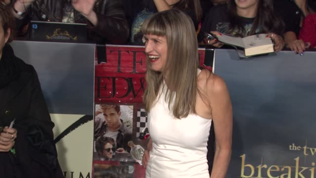 catherine hardwicke at the twilight saga: breaking dawn - part two los angeles premiere on 11/12/12 in los angeles, ca - twilight stock videos & royalty-free footage