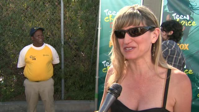 catherine hardwicke on being part of twighlight, on if fans send her any odd items, on working with the cast of twighlight, and on who she's looking... - universal city video stock e b–roll