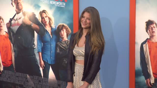 catherine missal at the vacation los angeles premiere at regency village theatre on july 27 2015 in westwood california - regency village theater stock videos and b-roll footage