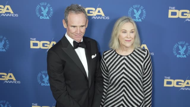 catherine o'hara and bo welch at the 71st annual dga awards at the ray dolby ballroom at hollywood highland center on february 02 2019 in hollywood... - director's guild of america stock videos & royalty-free footage