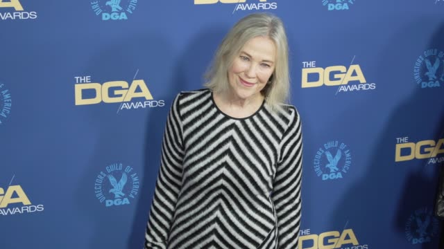 catherine o'hara at the 71st annual dga awards at the ray dolby ballroom at hollywood highland center on february 02 2019 in hollywood california - director's guild of america stock videos & royalty-free footage