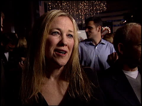 catherine o'hara at the 'a mighty wind' premiere at director's guide dga theater in los angeles, california on april 14, 2003. - wind点の映像素材/bロール