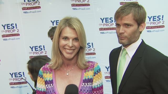 Catherine Oxenberg at the Ellen DeGeneres and Portia De Rossi host Yes On Prop 2 party at Los Angeles CA