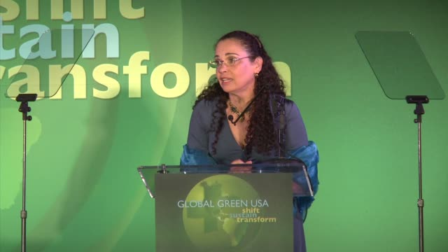catherine rusoff at global green usa presents its 16th annual millennium awards at fairmont miramar hotel on june 02 2012 in santa monica california - catherine rusoff stock videos & royalty-free footage