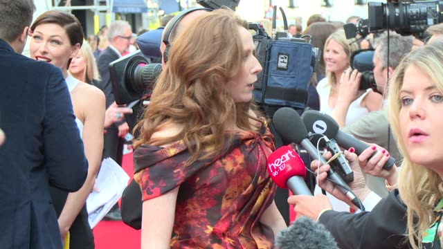 catherine tate at house of fraser british academy television awards - british academy television awards stock videos & royalty-free footage