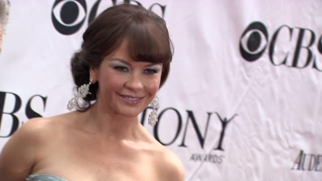 Catherine Zeta Jones at the 64th Annual Tony Awards at New York NY