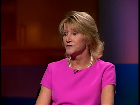 judge rules on hello case itn sally cartwright interviewed sot discusses ruling good legal grounds to contest amount of damages clean feed tape =... - damages television show stock videos and b-roll footage