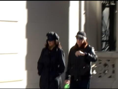 catherine zetajones and michael douglas at the celebrity sightings in new york at new york ny - catherine zeta jones stock videos & royalty-free footage