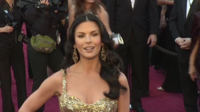 Catherine ZetaJones at 85th Annual Academy Awards Arrivals on 2/24/13 in Los Angeles CA