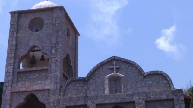 the churches of caracas venezeula santa teresa church 2 ms santa teresa church domes 3 cu santa teresa church dome 4 ms santa teresa church domes 5... - main tower stock-videos und b-roll-filmmaterial