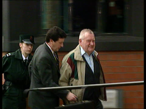 catholic priest brendan smyth extradited from northern ireland anat londonderry limavady magistrates court ext priest accused of sexual abuse brendan... - 性的虐待点の映像素材/bロール
