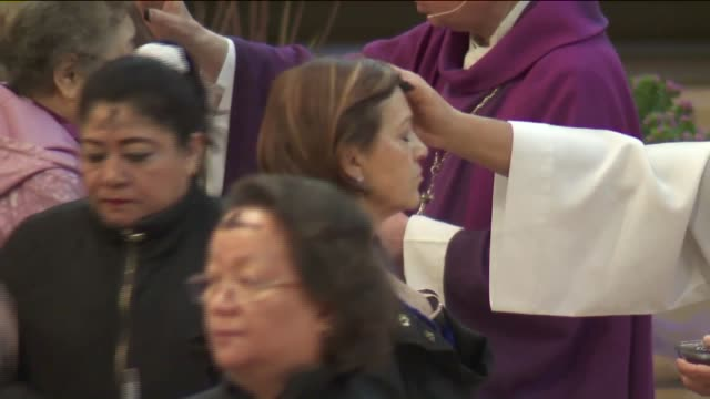 KTLA Catholic Priest Distributes Ashes on Ash Wednesday