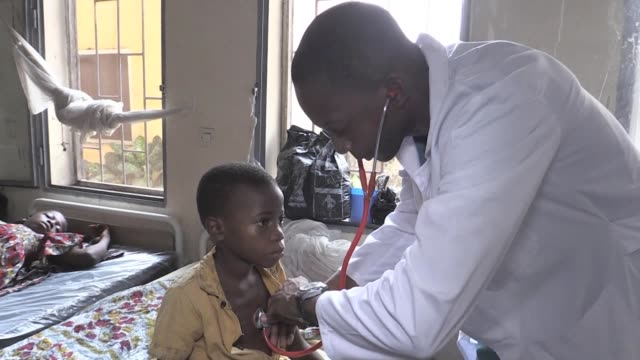 a catholic priest has set up a centre near kinshasa in the democratic republic of congo to tackle sickle cell anaemia - sickle stock videos & royalty-free footage