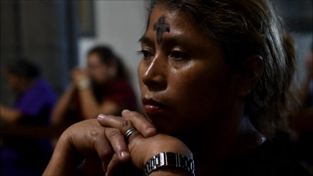 Catholics in El Salvador on Wednesday attended church in the parish of El Calvario in San Salvador to mark Ash Wednesday the beginning of the...