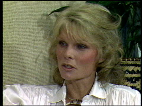 Cathy Lee Crosby talks about her social drug use Cathy Lee Crosby interview on January 01 1981 in Los Angeles California