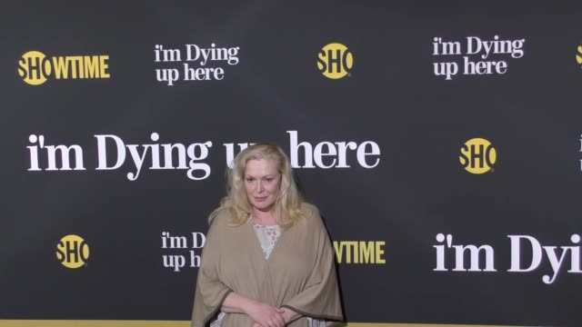 cathy moriarty at the premiere of showtime's 'i'm dying up here' arrivals on may 31 2017 in los angeles california - showtime video stock e b–roll