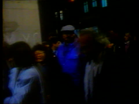 'cats' long running musical ext usa ms people queueing for tickets tx new york ms ditto itn broadway - broadway manhattan stock videos and b-roll footage