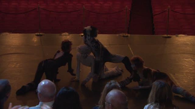 stockvideo's en b-roll-footage met chyron 'cats' photocall at london palladium on july 07 2014 in london england - london palladium