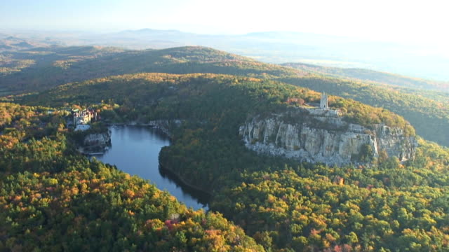 catskill mountains - mohonk stock videos and b-roll footage