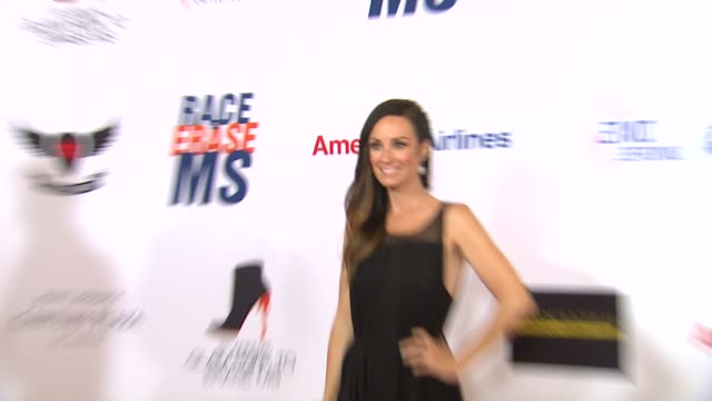 catt sadler at 19th annual race to erase ms glam rock to erase ms on 5/18/12 in los angeles ca - race to erase ms stock videos and b-roll footage