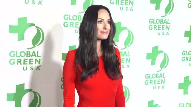 vídeos de stock e filmes b-roll de catt sadler at global green usa's 10th annual preoscar party on 2/20/13 in los angeles ca - festa do óscar