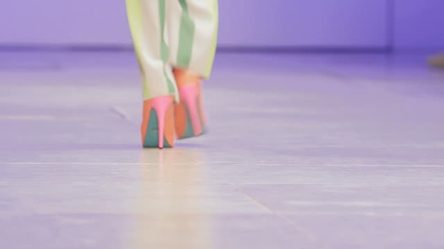 catwalk show - fashion collection stock videos & royalty-free footage