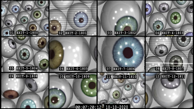 caught on cctv - big brother orwellian concept stock videos & royalty-free footage
