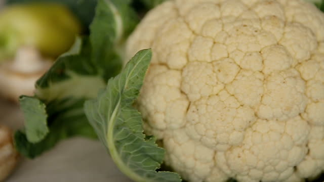 cauliflower,dolly shoot - cauliflower stock videos & royalty-free footage