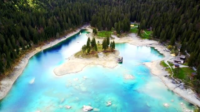 Caumasee-See in der Schweiz